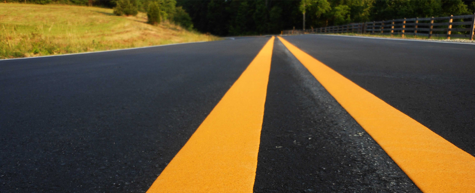 Thermoplastic Road Striping